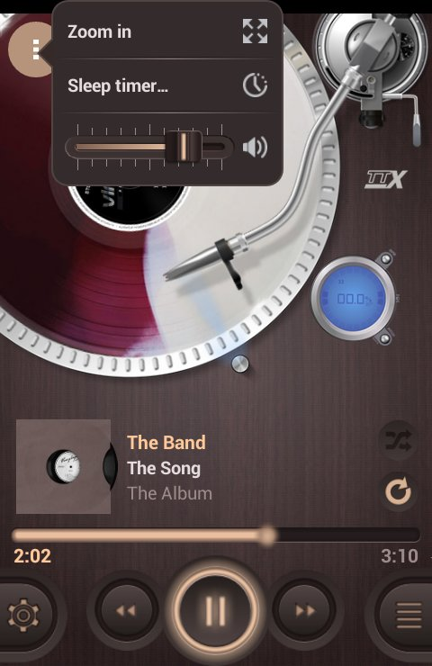 Скачать Vinylage Music Player для Андроид