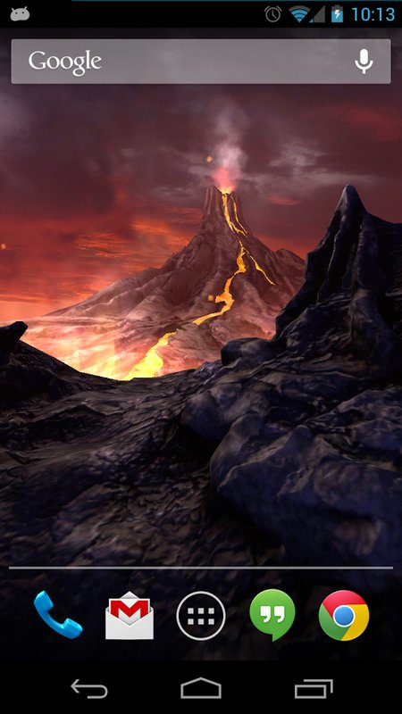 Скачать Volcano 3D для Андроид