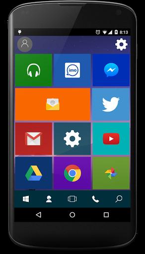 Скачать Win 10 Launcher для Андроид