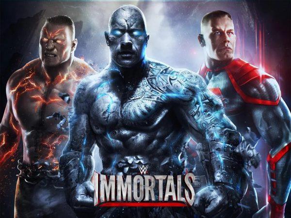 Скачать WWE Immortals для Андроид