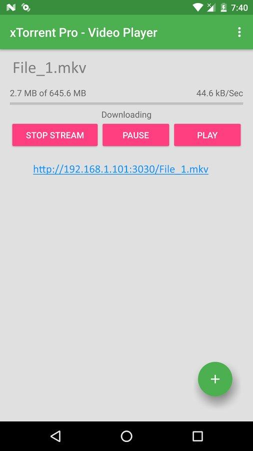 Скачать xTorrent Pro — Video Player для Андроид