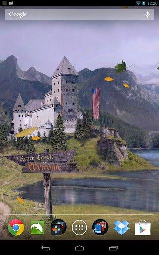 Скачать Замок живые обои / Summer Meadows LWP для Андроид
