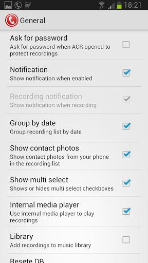 Скачать Запись звонков ACR для Андроид