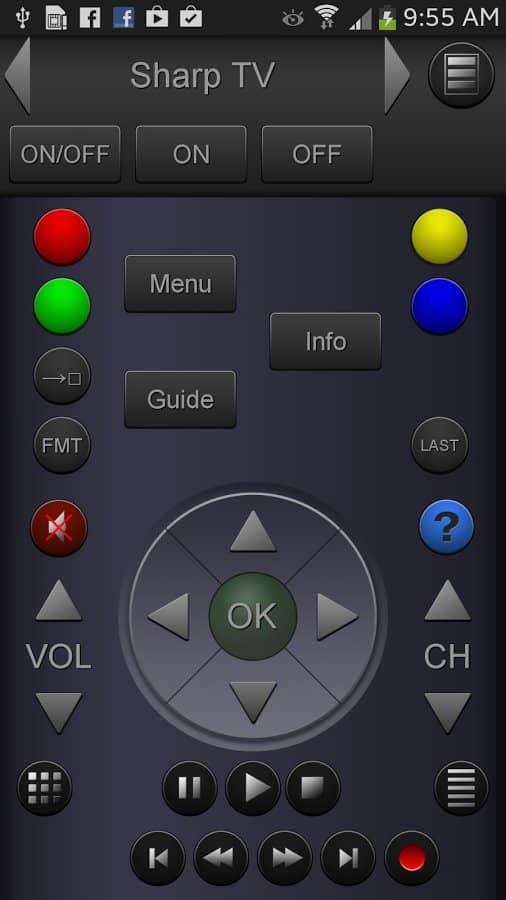 Скачать ZappIR TV Remote PRO для Андроид