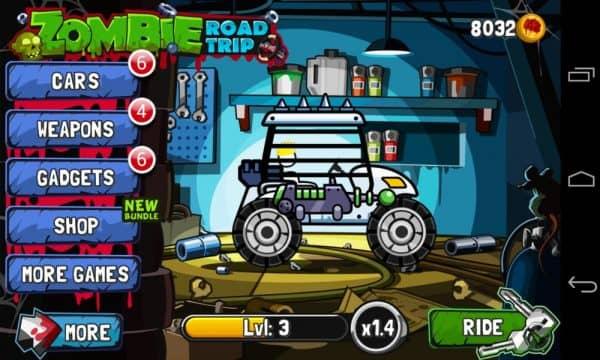 Скачать Zombie Road Trip для Андроид