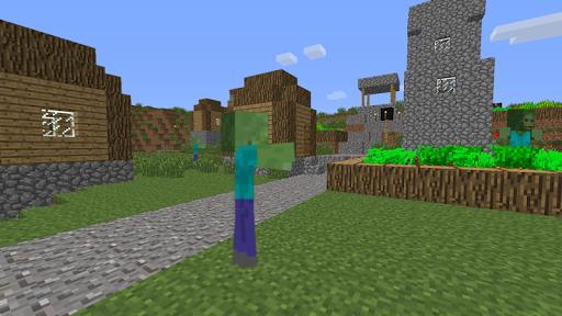 Скачать ZombieTown Minecraft обои для Андроид