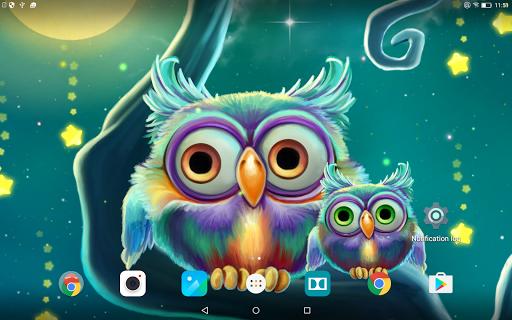 Скачать Звездопад Живые Обои / Starfall Live Wallpaper для Андроид